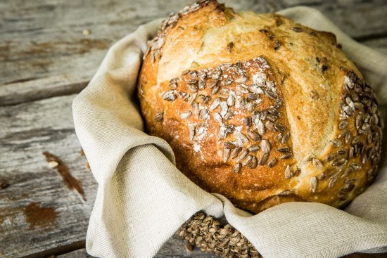 Pumpkin and sunflower seeds bread